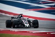 October 19-22, 2017: United States Grand Prix. Romain Grosjean (FRA), Haas F1 Team, VF17