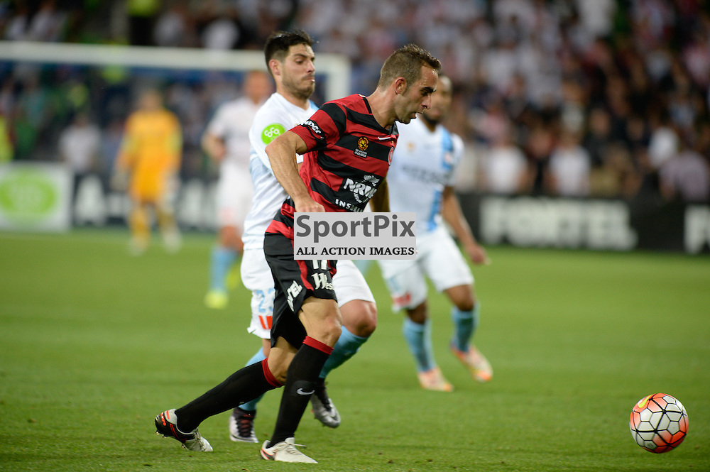 Alberto Aguilar of Western Sydney Wanderers FC - Hyundai A-League, January 9th 2016, RD14 match between Melbourne City FC v Western Sydney Wanderers FC at Aami Park in a 3:2 win to City. Melbourne, Australia. © Mark Avellino | SportPix.org.uk