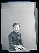 young male studio portrait circa 1930s
