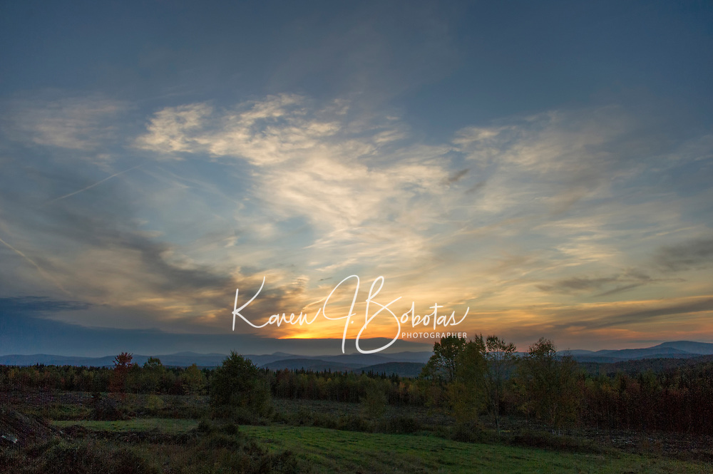 Up North - Clarksville, NH.   ©2018 Karen Bobotas Photographer