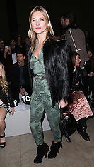 FEB 16 2014 Celebrities at day three of   London Fashion Week  A/W 2014