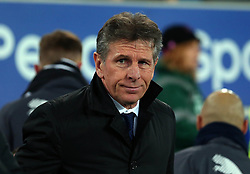 Leicester City manager Claude Puel - Mandatory by-line: Robbie Stephenson/JMP - 31/01/2018 - FOOTBALL - Goodison Park - Liverpool, England - Everton v Leicester City - Premier League