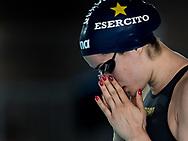 FERRAIOLI Erika Esercito<br /> 50 dorso donne<br /> Riccione 11-04-2018 Stadio del Nuoto <br /> Nuoto campionato italiano assoluto 2018<br /> Photo © Andrea Staccioli/Deepbluemedia/Insidefoto