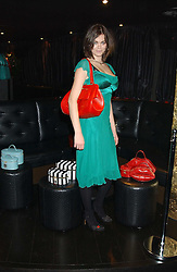 JASMINE GUINNESS at a preview of Lulu Guinness's new Handbag Collection ' Couture' held at Aviva, Baglioni Hotel, 60 Hyde Park Gate, London SW7 on 15th February 2006.<br /><br />NON EXCLUSIVE - WORLD RIGHTS