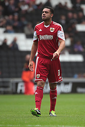 Bristol City's Derrick Williams  - Photo mandatory by-line: Nigel Pitts-Drake/JMP - Tel: Mobile: 07966 386802 24/08/2013 - SPORT - FOOTBALL - Stadium MK - Milton Keynes - Milton Keynes Dons V Bristol City - Sky Bet League One