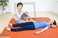 Hara Shiatsu (model-released)