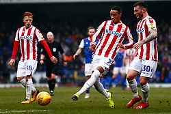 Thomas Ince of Stoke City Tom Edwards of Stoke City - Mandatory by-line: Phil Chaplin/JMP - 16/02/2019 - FOOTBALL - Portman Road - Ipswich, England - Ipswich Town v Stoke City - Sky Bet Championship