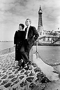 PADDY ASHDOWN and wife Jane, in Blackpool where he became leader of the Social and Liberal Democrats at their conference in 1988.  Five years later he disclosed a five-month affair with his secretary at the time of this photograph.  He and his marriage weathered the political and tabloid storm, with his wife of 30 years forgiving him. Photograph © Howard Barlow