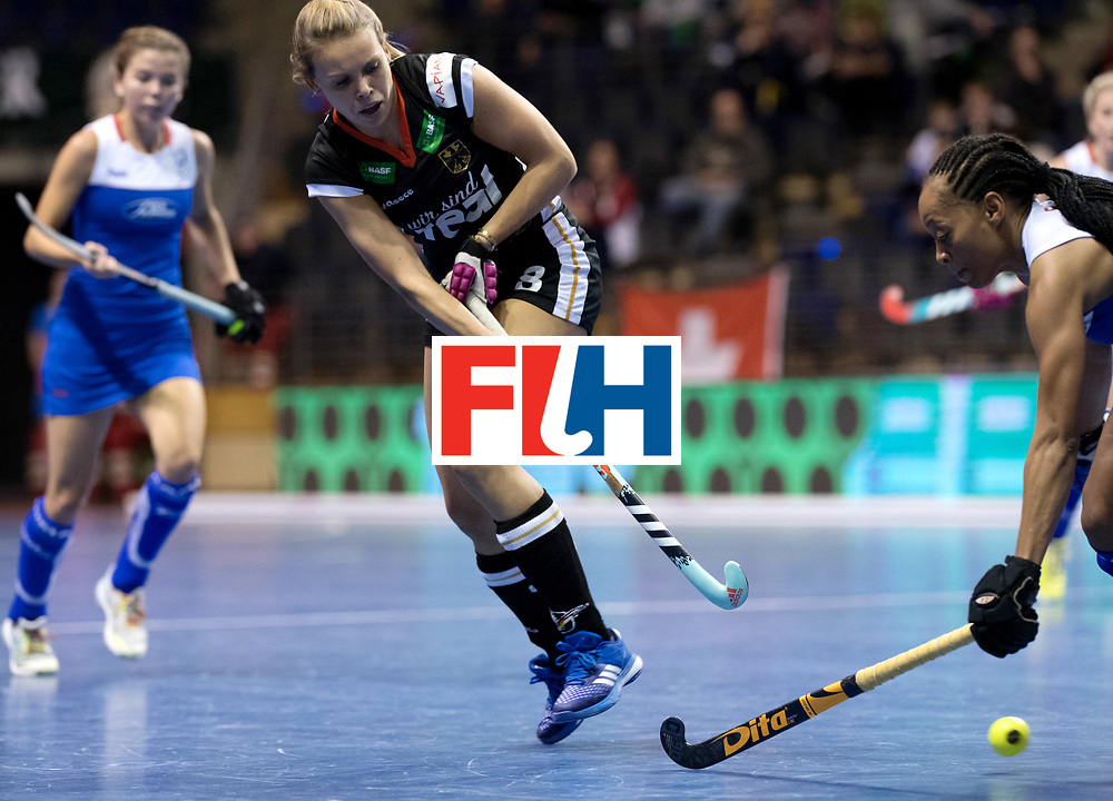 BERLIN - Indoor Hockey World Cup<br /> Women: Germany - Namibia<br /> foto: Anne Schroeder.<br /> WORLDSPORTPICS COPYRIGHT FRANK UIJLENBROEK