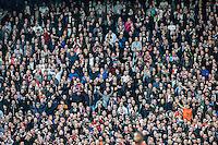 ROTTERDAM - Feyenoord - AZ , Voetbal , Eredivisie, Seizoen 2015/2016 , Stadion de Kuip , 25-10-2015 , Harde kern klapt massaal voor Johan Cruijff