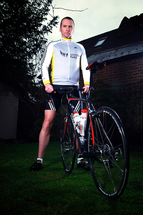 Former England international footballer and leukemia survivor Geoff Thomas now devotes his time to the Geoff Thomas charity foundation which takes in the London to Paris bicycle ride.