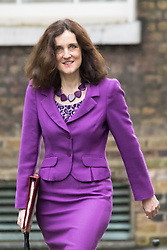 Downing Street, London, December 1st 2015. Northern Ireland Secretary Theresa Villiers arrives at Downing Street for the weekly cabinet meeting. ///FOR LICENCING CONTACT: paul@pauldaveycreative.co.uk TEL:+44 (0) 7966 016 296 or +44 (0) 20 8969 6875. ©2015 Paul R Davey. All rights reserved.