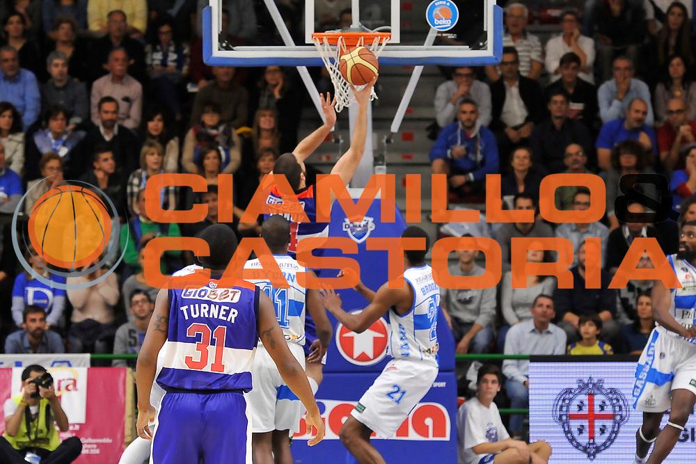 DESCRIZIONE : Campionato 2014/15 Dinamo Banco di Sardegna Sassari - Enel Brindisi<br /> GIOCATORE : Dejan Ivanov<br /> CATEGORIA : Tiro Penetrazione Controcampo<br /> SQUADRA : Enel Brindisi<br /> EVENTO : LegaBasket Serie A Beko 2014/2015<br /> GARA : Dinamo Banco di Sardegna Sassari - Enel Brindisi<br /> DATA : 27/10/2014<br /> SPORT : Pallacanestro <br /> AUTORE : Agenzia Ciamillo-Castoria / Luigi Canu<br /> Galleria : LegaBasket Serie A Beko 2014/2015<br /> Fotonotizia : Campionato 2014/15 Dinamo Banco di Sardegna Sassari - Enel Brindisi<br /> Predefinita :