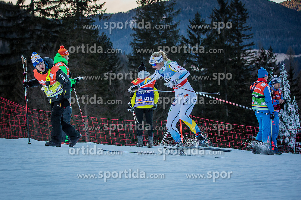 Maja Dahlqvist of Seweden during Ladies 1.2 km Free Sprint Qualification race at FIS Cross Country World Cup Planica 2016, on January 16, 2016 at Planica, Slovenia. Photo By Grega Valancic / Sportida
