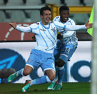 Danilo Cataldi Lazio esultanza dopo il gol, Goal Celebration, Torino 14-01-2015, Stadio Olimpico, Football Calcio 2014/2015 Coppa Italia, Torino - Lazio, Foto Marco Bertorello/Insidefoto