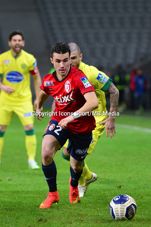 Sebastien CORCHIA - 14.01.2014 - Lille / Nantes - 1/4Finale Coupe de la Ligue<br />Photo : Dave Winter / Icon Sport