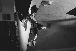 Mina Markovic during National championship in boulder climbing on November 29, 2015 in Kranj, Slovenia. (Photo By Grega Valancic / Sportida)