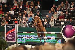 Skrzyczynski, Jaroslaw (POL), Crazy Quick<br /> Leipzig - Partner Pferd 2016<br /> Grosser Preis Sparkassen Leipzig und Longines Weltcup<br /> © www.sportfotos-lafrentz.de / Stefan Lafrentz