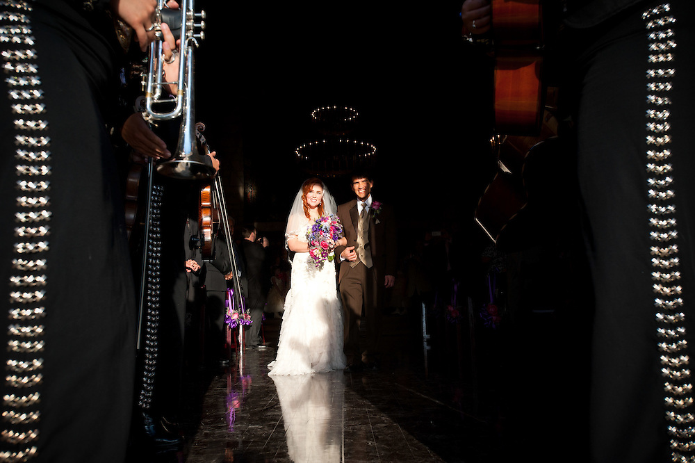 Shavonne Freemyer and Thi Truong wedding Friday, March 18, 2011 at Southwest School of Art.Photo © Bahram Mark Sobhani