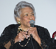 Leah Chase honored at Louisiana Endowment for the Humanities Bright Lights Awards Dinner at Popp Fountain in City Park of New Orleans on May 10, 2018