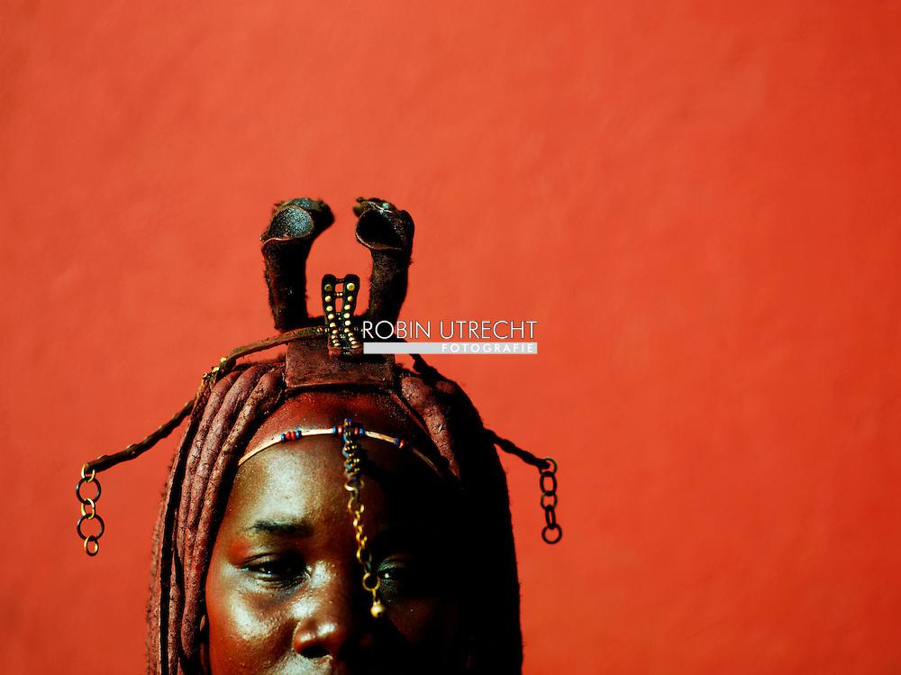 NAMIBIE - himba stam en bosjesmannen en zuid afrika en namibia afrika . Dode Acacia bomen, Dead Vlei, Namib woestijn sossusvlei copyright robin utrecht