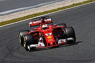 Sebastian Vettel of Scuderia Ferrari during the practice session of the Spanish Formula One Grand Prix at Circuit de Catalunya, Barcelona, Spain.<br /> Picture by EXPA Pictures/Focus Images Ltd 07814482222<br /> 12/05/2017<br /> *** UK &amp; IRELAND ONLY ***<br /> <br /> EXPA-EIB-170512-0169.jpg