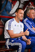 Chelsea Defender John Terry (26) during the Barclays Premier League match between Bournemouth and Chelsea at the Goldsands Stadium, Bournemouth, England on 23 April 2016. Photo by Adam Rivers.