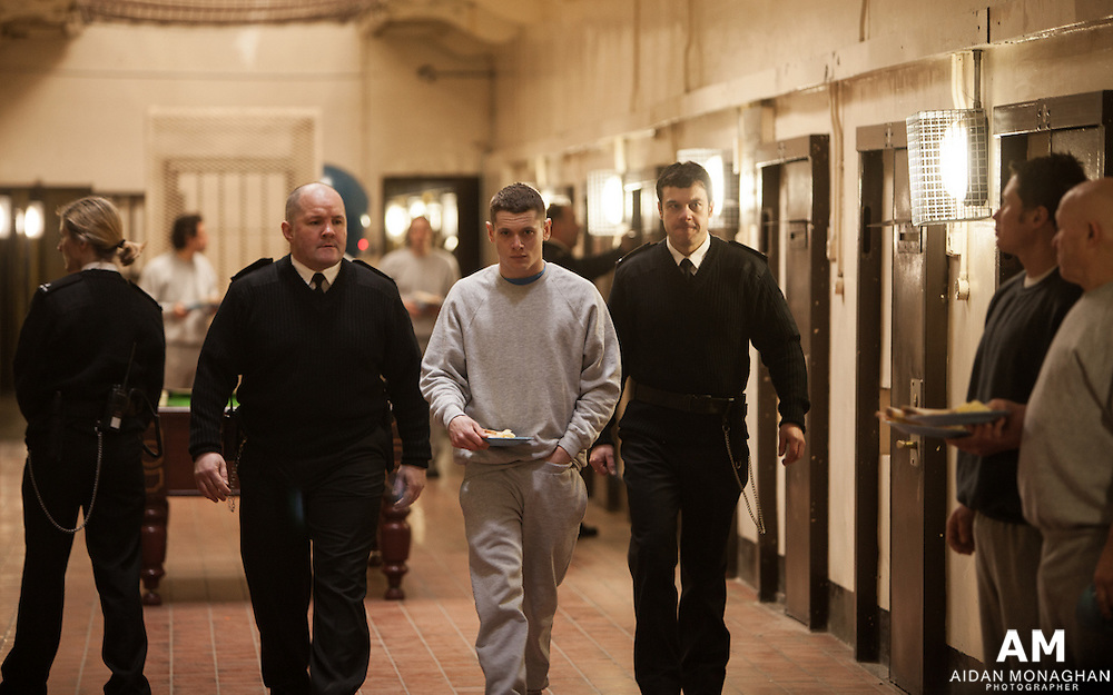 Starred Up 2013, publicity stills photographer  Aidan Monaghan<br /> Director: David Mackenzie Producer: Gillian Berrie    Writer: Jonathan Asser<br /> Cast: Jack O&rsquo;Connell, Ben Mendelsohn, Rupert Friend<br /> Reviews:  Variety  Indiewire Collider<br /> Starred Up<br /> Synopsis: Eric (Jack O&rsquo;Connell) is a violent young offender prematurely thrown into the dark world of an adult prison. As he struggles to assert himself against the prison officers and the other inmates, he has to confront his own father, Nev (Ben Mendelsohn); a man who has spent most of his life in jail. As Eric forges allegiances with other prisoners, he learns that his rage can be overcome and discovers the new rules of survival. But there are forces at work which threaten to destroy him.<br /> <br /> World Premiere: Toronto International Film Festival 2013<br /> <br /> UK Premiere: London Film Festival 2013<br /> <br /> publicity stills photographer for film &amp; TV, Starred Up 2013,Jack O&rsquo;Connell, Ben Mendelsohn, Rupert Friend, Director: David Mackenzie