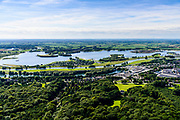 Nederland, Gelderland, Gemeente Rheden, 17-07-2017; rivier de IJssel met recreatiegebied Rhederlaag, Gieseplas en Valeplas.<br /> Recreation area near Arnhem, river IJssel.<br /> luchtfoto (toeslag op standard tarieven);<br /> aerial photo (additional fee required);<br /> copyright foto/photo Siebe Swart