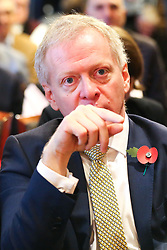 © Licensed to London News Pictures. 05/11/2019. London, UK. Liberal Democrat MP for Bracknell PHILLIP LEE at thelaunch of Liberal Democrat general election campaign in Westminster.A general election will be held on 12 December 2019.Photo credit: Dinendra Haria/LNP