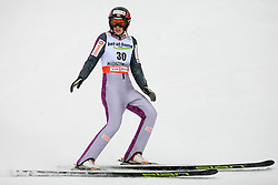 Line Jahr of Norway at Ski Jumping ladies Normal Hill Individual of FIS Nordic World Ski Championships Liberec 2008, on February 20, 2009, in Jested, Liberec, Czech Republic. (Photo by Vid Ponikvar / Sportida)