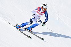 KIIVERI Santeri LW6/8-1 FIN competing in the Para Alpine Skiing Downhill at the PyeongChang2018 Winter Paralympic Games, South Korea