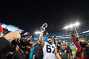 January 24, 2016: Carolina Panthers vs Arizona Cardinals. Ryan Kalil