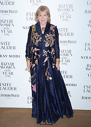 Hannah Rothschild attending the Harper's Bazaar Woman of the Year awards at Claridges in London. Picture date: Monday October 31, 2016. Photo credit should read: Isabel Infantes / EMPICS Entertainment.