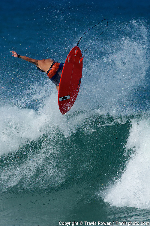 Lee Wilson (Bali) on the North Shore of Oahu.