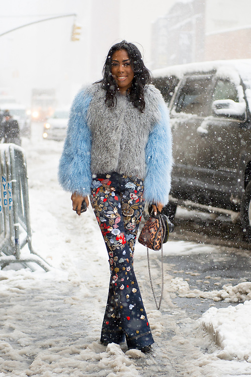 Stylish in the Snow, Outside Nicholas K FW2017