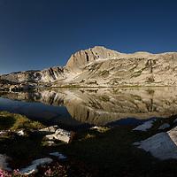 North Peak Reflected in Cascade Lake