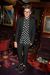 HENRY HOLLAND at a dinner to celebrate the launch of Genetic - Liberty Ross hosted by Liberty Ross and Ali Fatourechi at Annabel's, 44 Berkeley Square, London on 3rd September 2014.