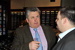 PAUL NICHOLLS at a party to celebrate the paperback publication of Lucky Break by leading trainer Paul Nicholls held at Thomas Pink, 85 Jermyn Street, London on 23rd February 2011.