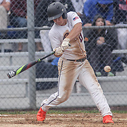 Caravel Academy Nicholas Jones (11) in action at the plate in the third inning in the mist of the second round of the DIAA baseball state tournament between#4 Caravel Academy and #15 St. Elizabeth Saturday May 27, 2017, at Caravel Academy in Bear Delaware.