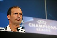 26.09.2017 - Torino - Champions League - conferenza stampa di vigilia di Juventus-Olympiakos nella  foto: Massimiliano Allegri
