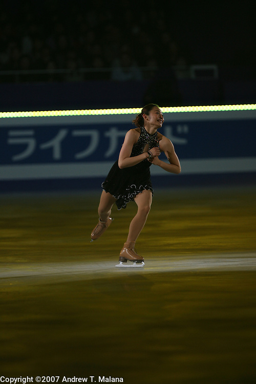 TOKYO - MARCH 25: Miki Ando of Japan performs in an exhibition program during at the World Figure Skating Championships at the Tokyo Gymnasium on March 25, 2007 in Tokyo, Japan. (Photo by Andrew T. Malana)..