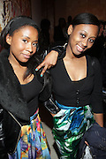 l to r: Ashley Shante and Felcia Mckenzie at The American Black Film Festival New York Buzz Party Sponsored by New York Women in Film & Television hosted by Tsia Moses on April 30, 2009 held at Sundaram Tagore Gallery in NYC.