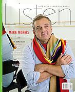 """""""Mark Morris: The Choreographer"""", cover, Listen Magazine, Summer 2012"""