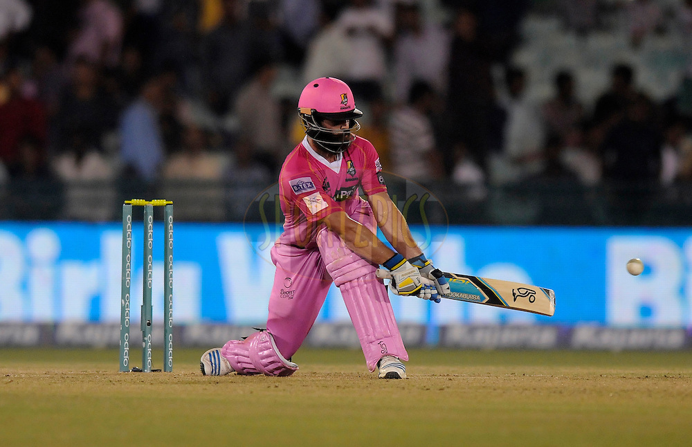 Anton Devcich of Northern Knights bats during match 3 of the Oppo Champions League Twenty20 between the Cape Cobras and the Northern Knights held at the Chhattisgarh International Cricket Stadium, Raipur, India on the 19th September 2014<br /> <br /> Photo by:  Pal Pillai / Sportzpics/ CLT20<br /> <br /> <br /> Image use is subject to the terms and conditions as laid out by the BCCI/ CLT20.  The terms and conditions can be downloaded here:<br /> <br /> http://sportzpics.photoshelter.com/gallery/CLT20-Image-Terms-and-Conditions-2014/G0000IfNJn535VPU/C0000QhhKadWcjYs