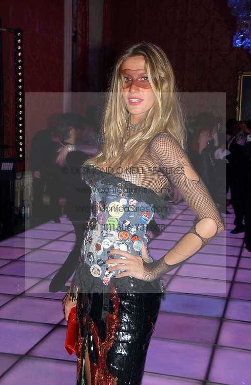 Supermodel GISELLE BUNDCHEN at the 2006 Moet & Chandon Fashion Tribute in honour of photographer Nick Knight, held at Strawberry Hill House, Twickenham, Middlesex on 24th October 2006.<br />