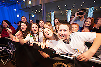 Amid flashing lights and thumping beats and a 100 strong chorus of encouragement from excited friends and family, 7 students from Letterfrack National school scooped the title of SAP FIRST LEGO League Champions 2015 at the live national final in Galway  organised by The Galway Education Centre . <br />  <br /> Just under 300 students from 10 counties around Ireland travelled west to take part in the final which ran all day in the Radisson Blu hotel with heightening excitement and tension.  For each of the teams competing, this was the final leg of a challenging and exhilarating journey which saw them complete projects which addressed the huge question: &ldquo;What is The Future of Learning? &ldquo;.<br /> <br /> Photo:Andrew Downes
