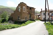 Greece, Macedonia, Antonios a small farming village neglected house