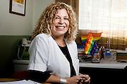 """MARIA ISABEL GONZALEZ TRIVELLI, ENFERMERA MATRONA ESPECIALISTA EN ADOLESCENTES, DIRECTORA DEL CENTRO DE SALUD ADOLESCENTE """"SER JOVEN"""". SANTIAGO DE CHILE 15-05-2012 Alvaro de la Fuente/TRIPLE.cl."""