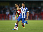 Sam Baldock during the Pre-Season Friendly match between Crawley Town and Brighton and Hove Albion at the Checkatrade.com Stadium, Crawley, England on 22 July 2015.